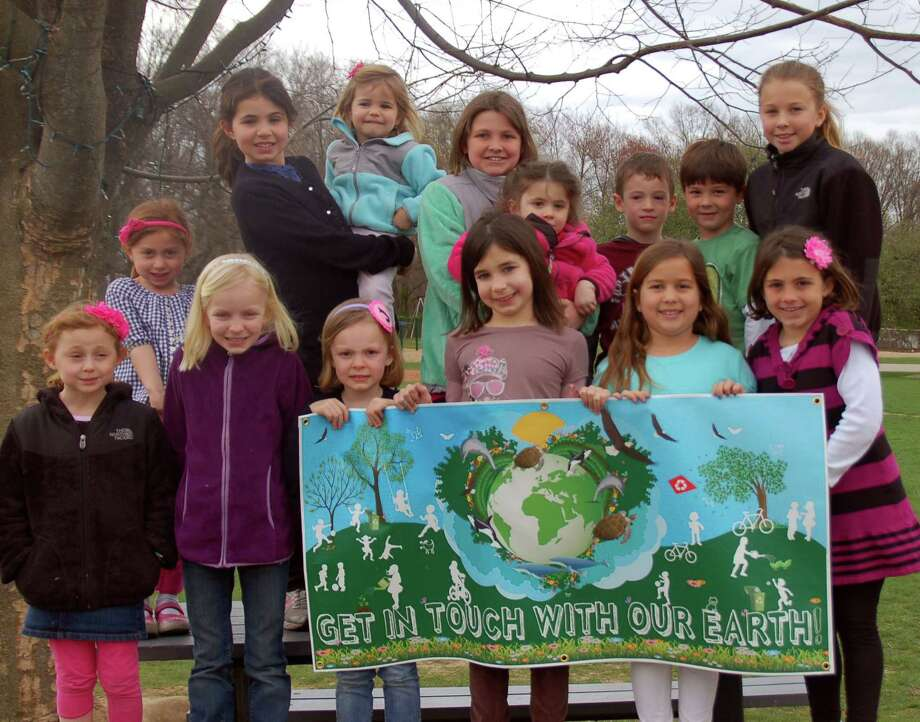 "Hindley students are ready to ""get in touch with Earth"" during their art show later this month. Photo: Contributed Photo"