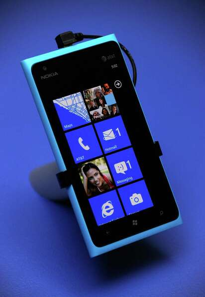 Here's a closer look at the Nokia Lumia 900, which Microsoft launched with a massive celebration in