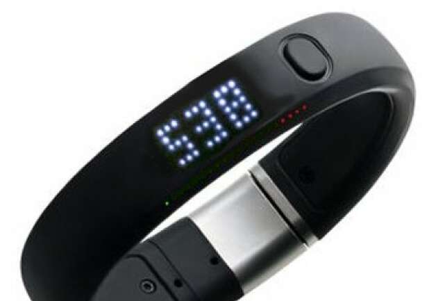 Nike FuelBand Photo: Cnet Review