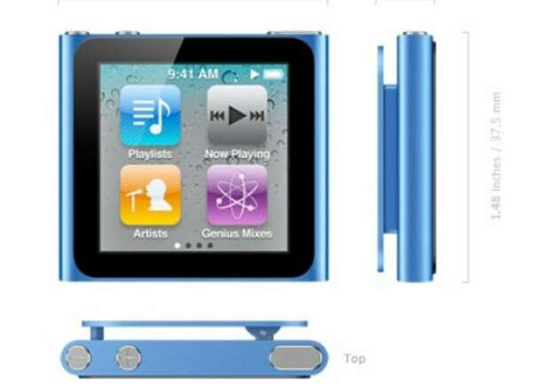 Apple iPod Nano 2011 Photo: Cnet Review