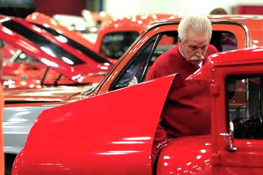 Cars of his youth never grow old houston chronicle for Hanson motors used cars