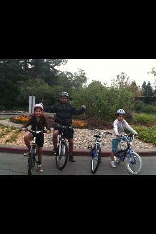 Hannah Nuri, 12, her father, Solaiman Nuri, 41, and 9-year-old sister, Hadessa Nuri. The father and Hadessa were killed April 7, 2012, while riding their bikes in Concord. Hannah suffered minor injuries. Photo: Emal Karzai, Courtesy Of Emal Karzai