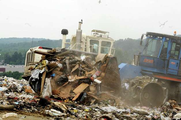 The Town of Colonie Landfill in Colonie, NY Friday July 29,2011.( Michael P. Farrell/Times Union) Photo: Michael P. Farrell