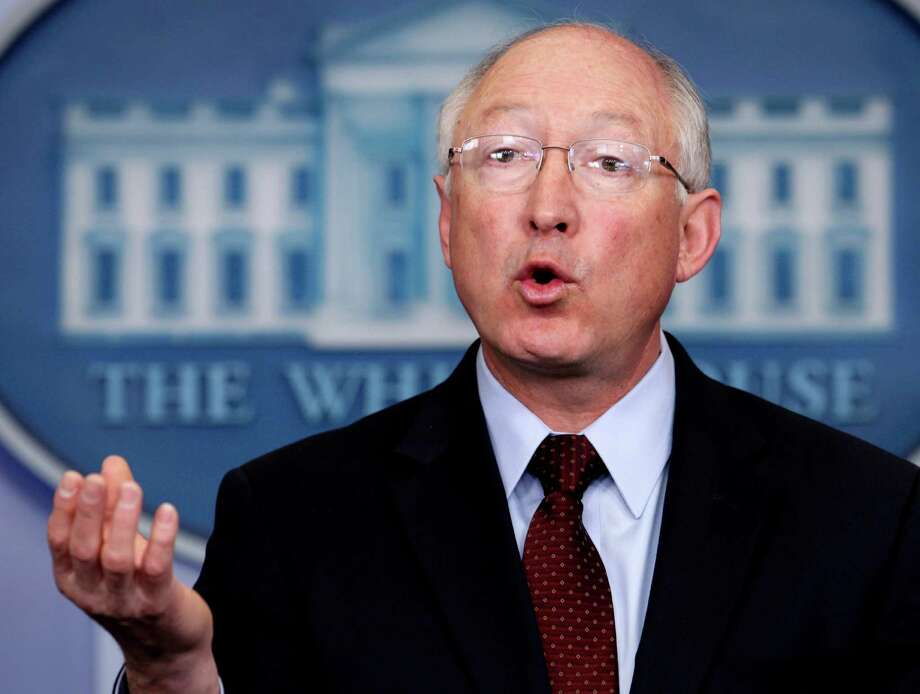 "Interior Secretary Ken Salazar says leading the Interior Department has been the ""highest privilege"" in his public service career. Photo: Carolyn Kaster / AP2012"