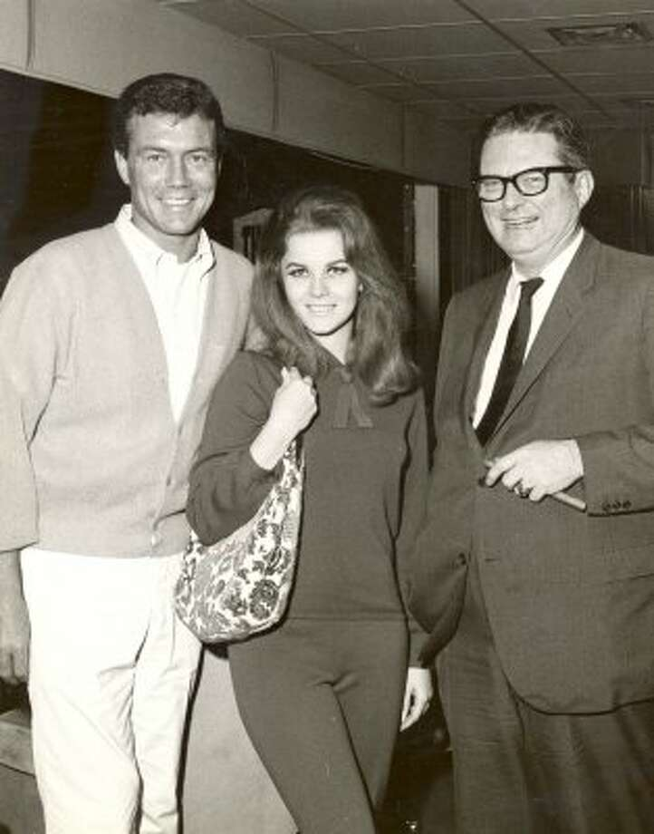 Roger Smith, Ann-Margret and Roy Hofheinz, May 1965. (Dome City Photographers / Dome City Photographers)