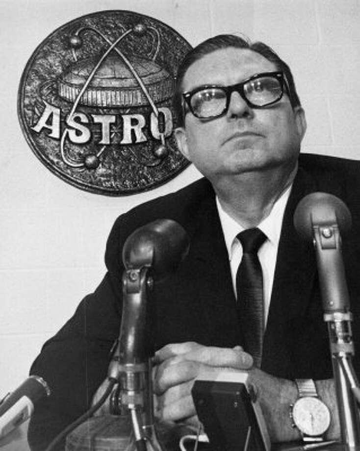 Roy Hofheinz, 1965. (Bill Thompson / Houston Chronicle file)