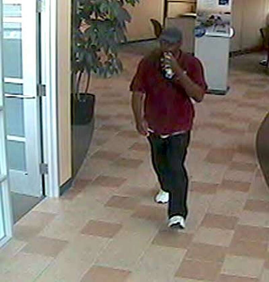Officials say surveillance cameras captured the man's image. (Crime Stoppers)