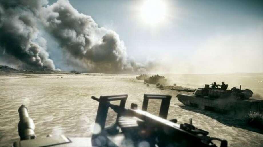 Battlefield 3; Platform: PlayStation 3, Xbox 360, PC; Publisher: Electronic Arts; Developer: EA Digital Illusions CE