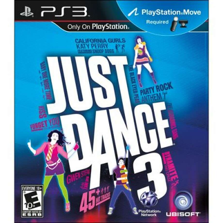 Just Dance 3;  Platform: Nintendo Wii, PlayStation 3, Xbox 360; Publisher: Ubisoft; Developer: Ubisoft Paris