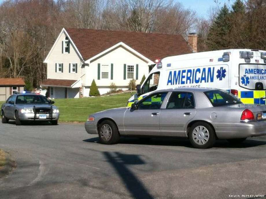 A child was killed on Tuesday, April 10, 2012 in a wood chipper accident in Salem. Photo: WTNH