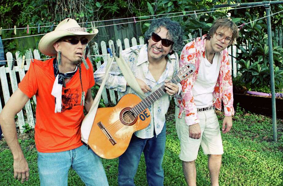 From left, odie, Joe Reyes and Erik Sanden of the San Antonio band Buttercup. Photo: Courtesy Photo