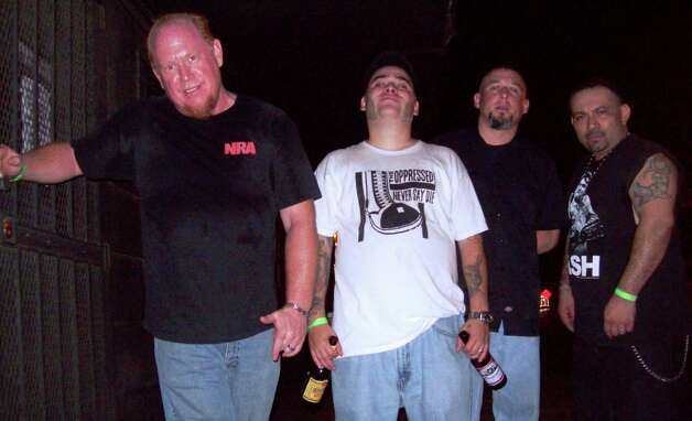 Veteran San Antonio punk band The Perturbed Photo: Courtesy Tony Chainsaw