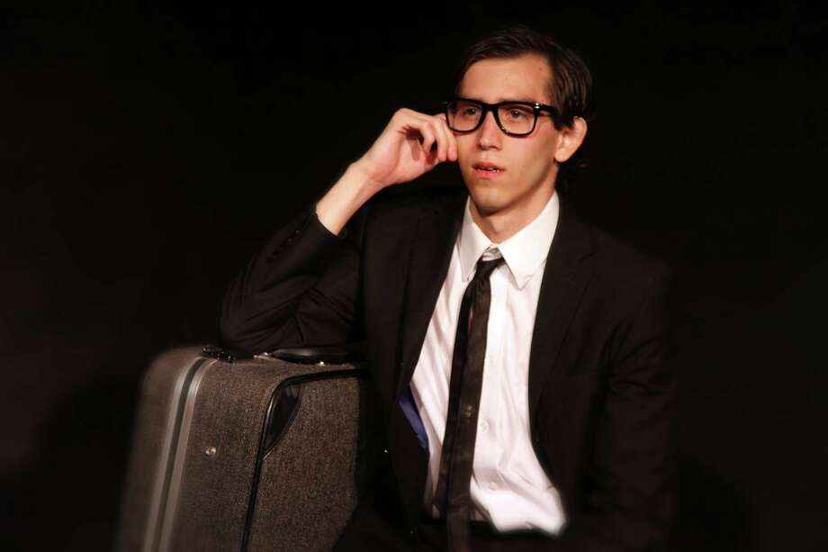 "Tadeo Garcia plays the lead in the Overtime Theater's ""For the Love of an Anesthesiologist. Courtesy Overtime Theater"
