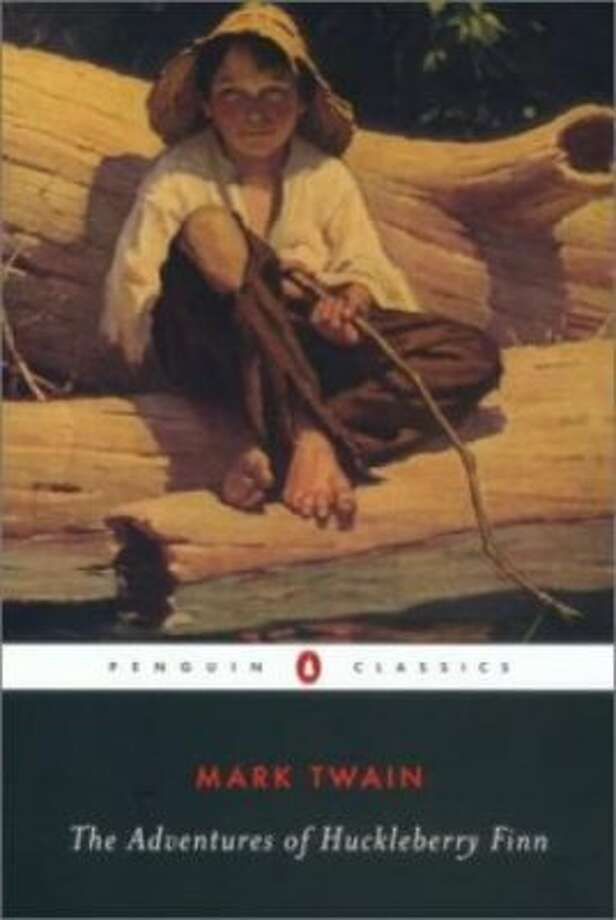 """The Adventures of Huckleberry Finn"" by Mark Twain – On the American Library Association's list of frequently challenged books, it ranked No. 5 in 2007, No. 7 in 2002 – Some object to the book's racist terms."