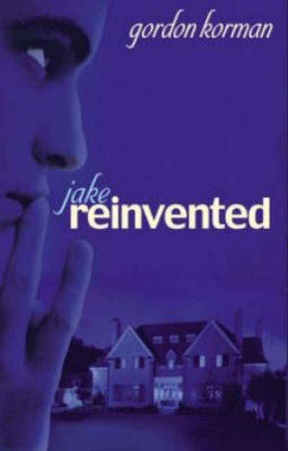 """""""Jake Reinvented"""" by Gordon Korman Challenged for themes of teen drinking, sex and violence."""