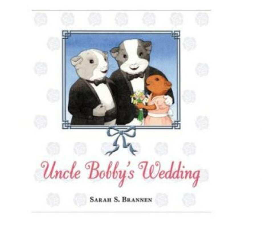 """Uncle Bobby's Wedding"" by Sarah S. Brannen – On the American Library Association's list of frequently challenged books, it ranked No. 8 in 2008 – Some objected to the book's themes regarding homosexuality."