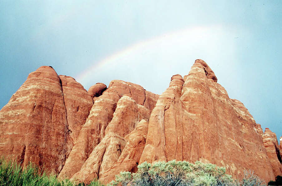 Arches National Park in Moab, Utah, is nirvana to mountain bikers, hikers and white-water rafters.