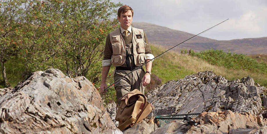 "Best actor, comedy or musical nominee:Ewan McGregor, ""Salmon Fishing in Yemen"" Photo: CBS / ©2011 CBS FILMS. All Rights Reserved."