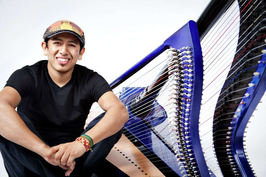 New Canaan Library presents a musical performance by the internationally-acclaimed Colombian jazz harpist Edmar Castaneda. He will perform a benefit concert Saturday, April 14 at 4 p.m. in the library's Adrian Lamb Room. Tickets are $50 each and can be purchased online at newcanaanlibrary.org, or at the Library. For information, call Susan LaPerla at 203-594-5007. Photo: Diana Bejarano, Contributed Photo / Diana bejarano 2011