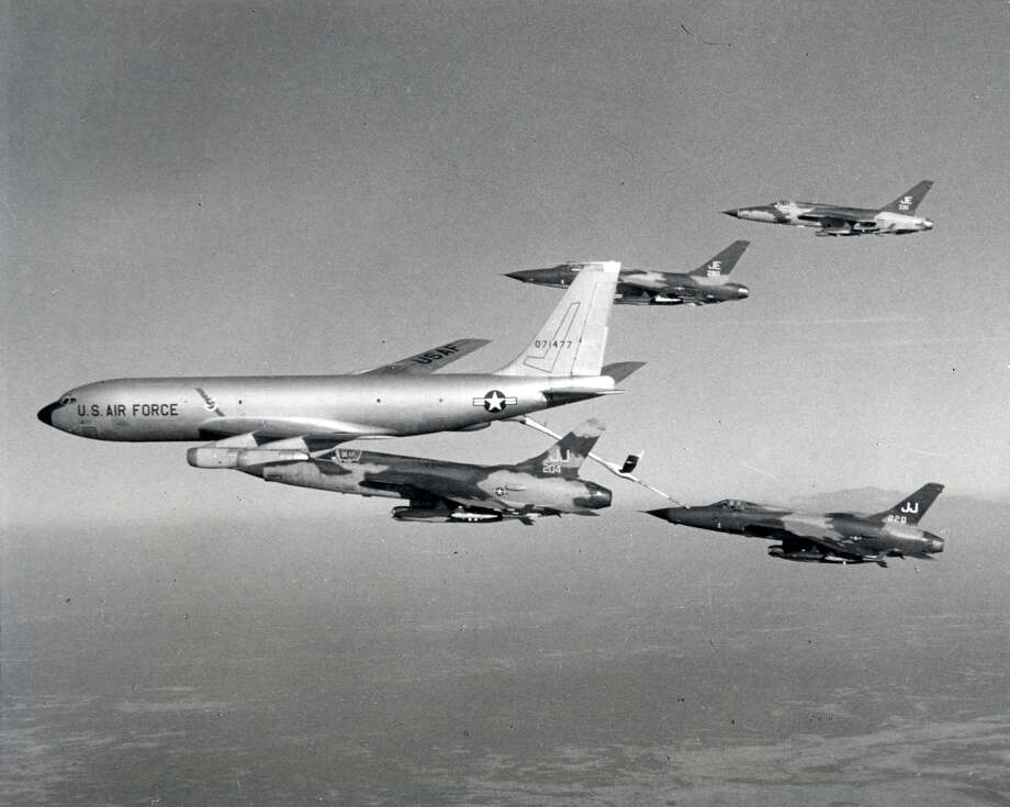 Tankers were essential in allowing heavy fighter-bombers to reach North Vietnamese targets and return. Photo: U.S. Air Force