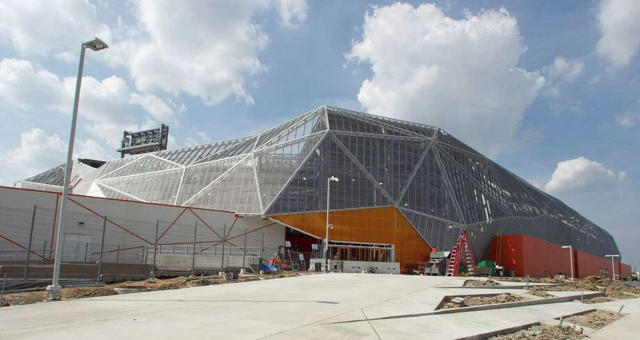 An exterior view of the BBVA Compass Stadium. Photo: James Nielsen, Chronicle / © 2012 Houston Chronicle