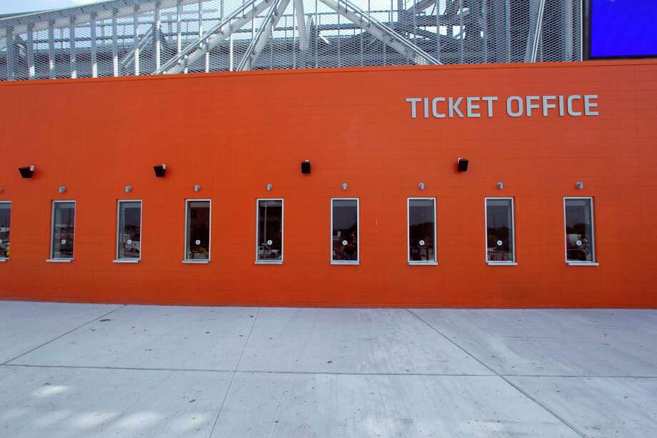 The ticket office at BBVA Compass Stadium. Photo: James Nielsen, Chronicle / © 2012 Houston Chronicle