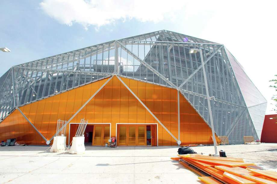 An entrance to the BBVA Compass Stadium. Photo: James Nielsen, Chronicle / © 2012 Houston Chronicle