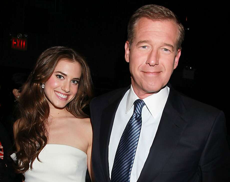 "Actress Allison Williams poses with her father, NBC News' Brian Williams, at the premiere of the HBO original series ""Girls,"" Wednesday, April 4, 2012 in New York. The comedy, starring Williams, Zosia Mamet, Jemima Kirke, and creator and executive producer Lena Dunham, premieres April 15, at  10:30p.m. EST on HBO. (AP Photo/Starpix, Dave Allocca) Photo: Dave Allocca, Associated Press"