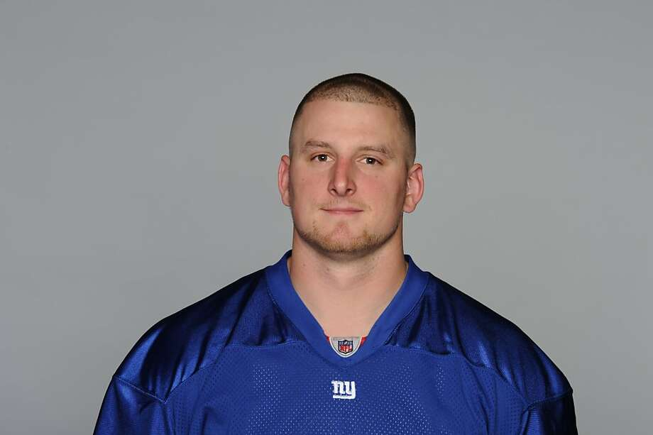 EAST RUTHERFORD, NJ - CIRCA 2010: In this handout image provided by the NFL, Dave Tollefson of the New York Giants poses for his 2010 NFL headshot circa 2010 in East Rutherford, New Jersey. (Photo by NFL via Getty Images)  EAST RUTHERFORD, NJ - CIRCA 2010: In this handout image provided by the NFL, Dave Tollefson of the New York Giants poses for his 2010 NFL headshot circa 2010 in East Rutherford, New Jersey. (Photo by NFL via Getty Images) Photo: Nfl, Getty Images