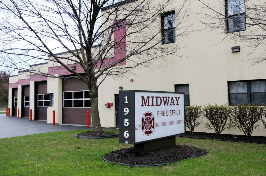 Midway Fire District building on Tuesday, April 10, 2012, in Colonie, N.Y. (Cindy Schultz / Times Union) Photo: Cindy Schultz / 00017159A