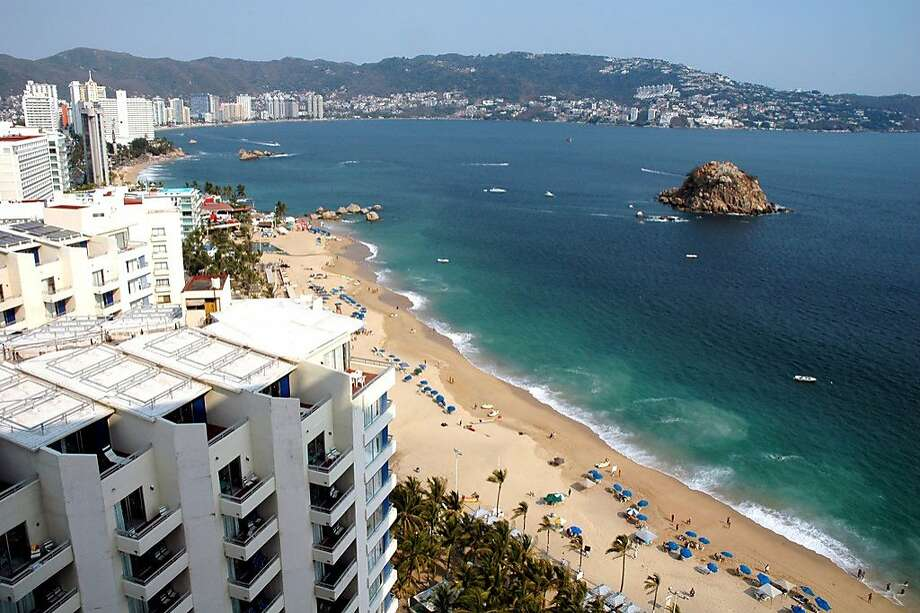 "In Acapulco, hit last year by incidents of drug violence, a ""Remember Acapulco"" campaign and website aims to reassure visitors that they will be safe in the country's first resort city. Photo: Christine Delsol, Special To SFGate"