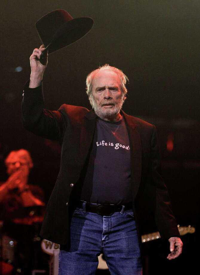 Merle Haggard: April 6, 1937  Photo: Mark Humphrey, Associated Press / AP