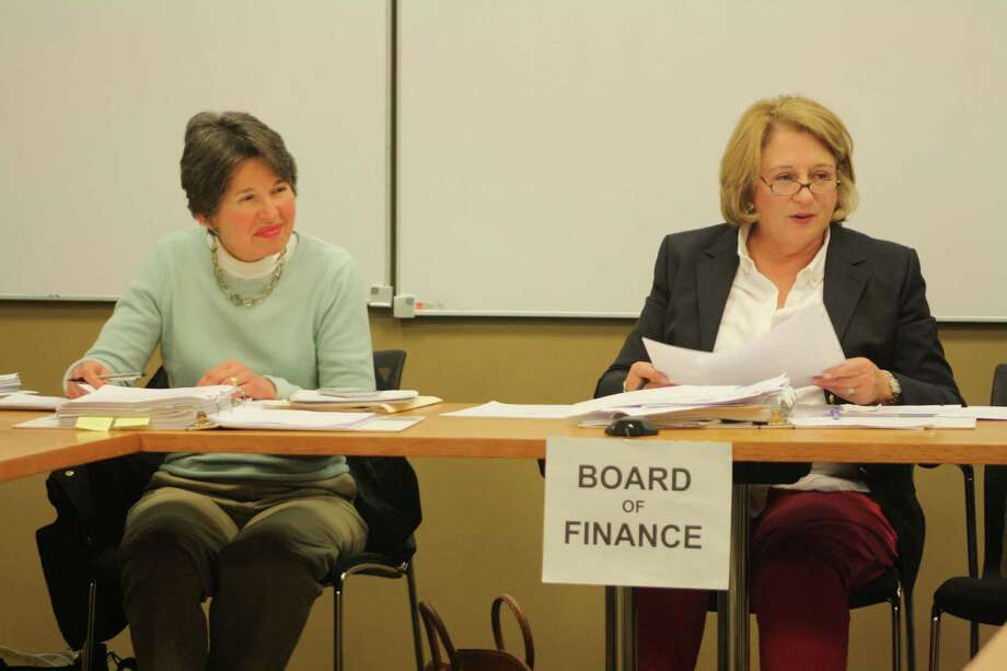 The Board of Finance encouraged the Board of Education to cut about another $291,000 from the budget in order to keep the tax rate increase at 4 percent. Photo: Ben Holbrook