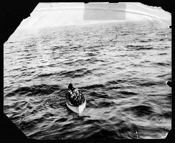 FILE -- Survivors of the sinking of the RMS Titanic approach the RMS Carpathia in this April 15, 1912 photo. The largest ship afloat at the time, the Titanic sank in the north Atlantic Ocean on April 15, 1912, after colliding with an iceberg during her maiden voyage from Southampton to New York City.  (The New York Times)  Photo: THE NEW YORK TIMES, NYT / NYTNS