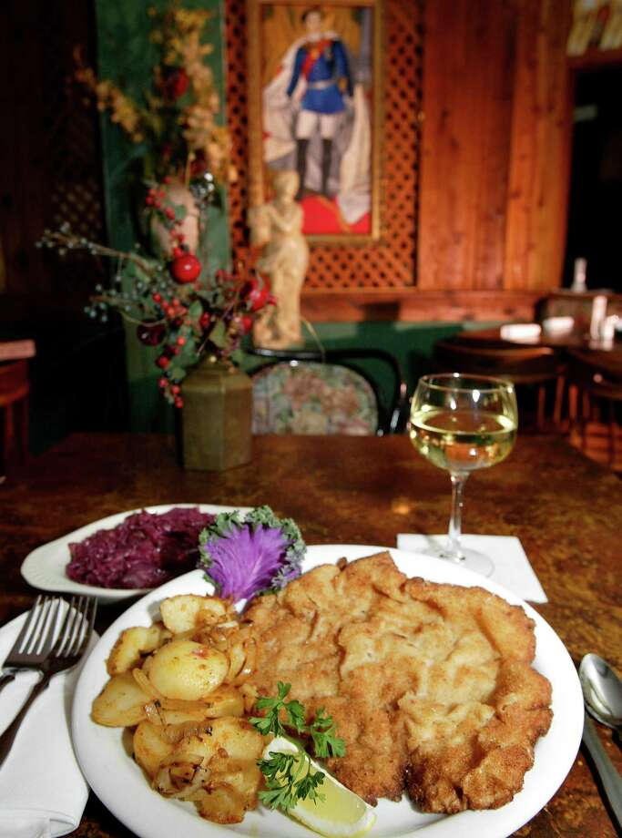 Rudi Lechner's: Five courses for $99.95 per couple,  includes a bottle of wine. The meal (not pictured): Seafood Vol au Vent, minestrone  soup, hearts of palm salad, choice of filet mignon or grilled salmon and  Cherries Jubilee. 2503 S.Gessner, 713-782-1180 Photo: CRAIG H. HARTLEY / FREELANCE