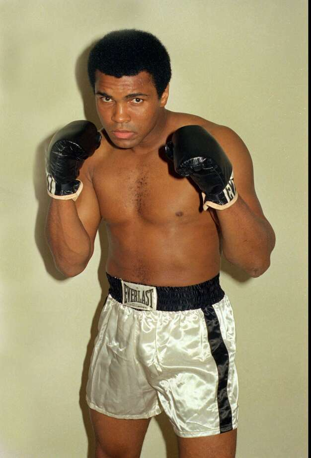 Muhammad Ali is shown in this October 9, 1974 file photo. (AP Photo / archive)