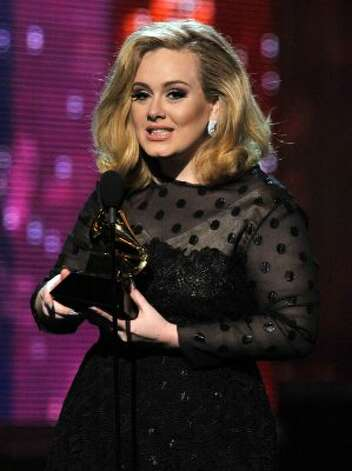 Adele isn't just popular at the Grammy's, she's also got a popular name right now.  (Kevin Winter / Getty Images)