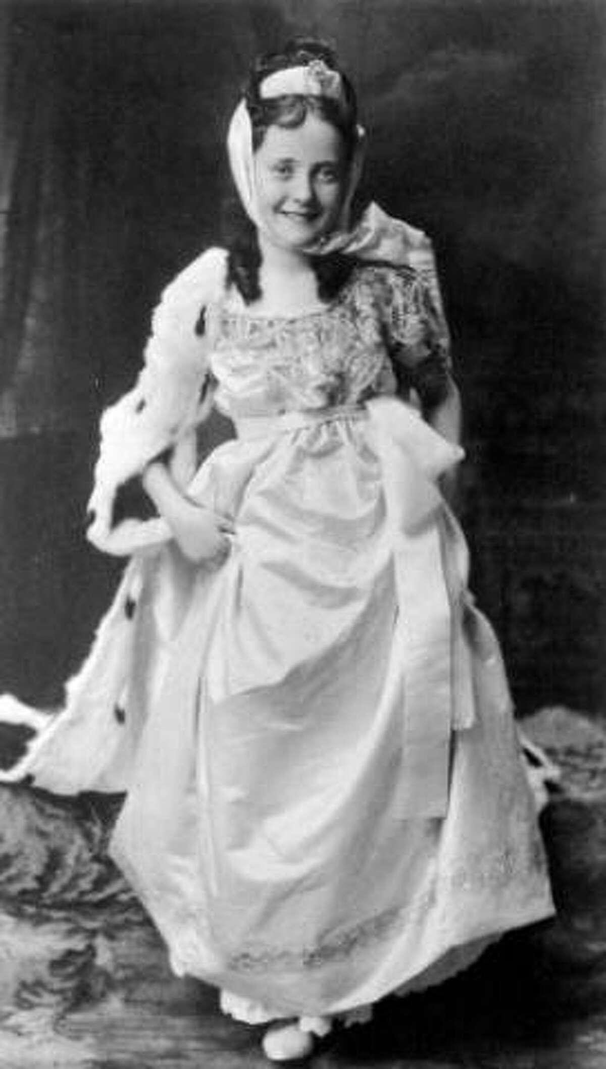 Studio portrait of Catherine Ellen