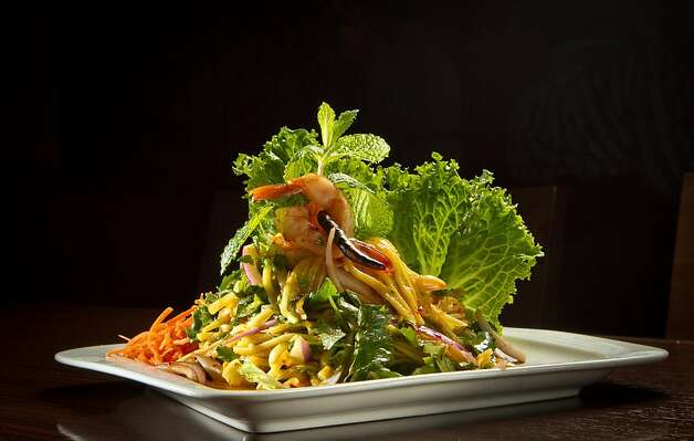 The Mango Salad at Kacha Thai Bistro in Walnut Creek, Calif., is seen on Friday April 7th, 2012. Photo: John Storey
