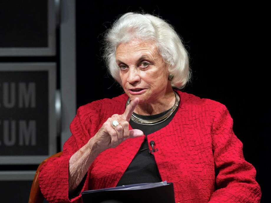 Ex-Supreme Court Justice Sandra Day O'Connor was praised as an inspiration by Justice Sonia Sotomayor. Photo: Manuel Balce Ceneta / AP