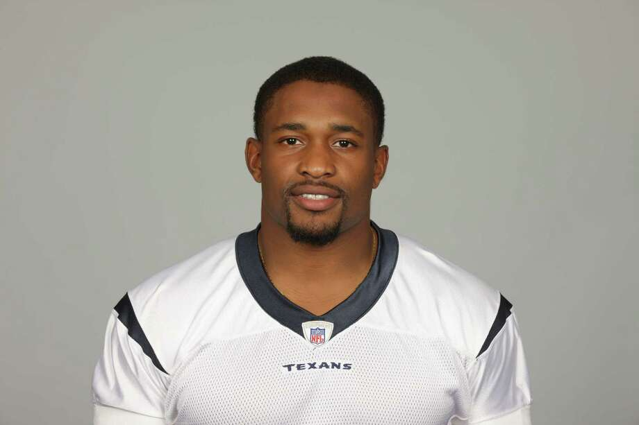 Houston Texans defensive tackle Amobi Okoye of the Houston Texans football team. This image reflects the 2010 roster as of May 18, 2010 when this image was taken. Photo: Paul Ladd, FRE / NFLPV AP