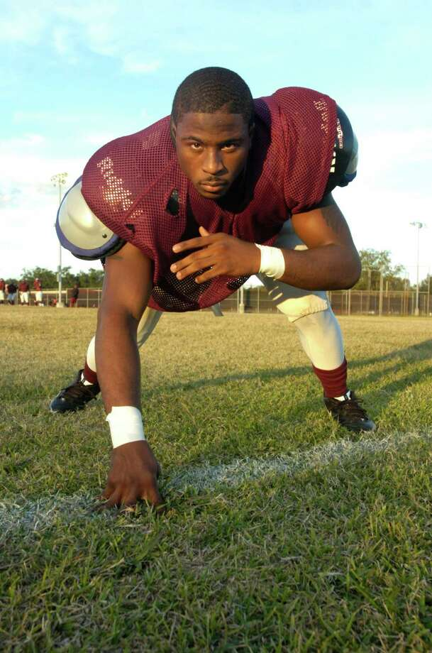 Kewan Alfred is a senior defensive tackle on the Central football team and is also one of the team's  leaders. He kept the Jaguars motivated during a 0-2 start to the season and helped them win seven-straight games and the District 20-4A title.  Alfred and the Jags will face Galena Park at 7 p.m. Friday in the Class 4A bi-district round of the playoffs at Stallworth Stadium in Baytown. Tuesday, November 9, 2010.  Valentino Mauricio/The Enterprise Photo: Valentino Mauricio / Beaumont