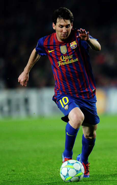 Lionel Messi has 61 goals this year, the most in Europe since 1973. Photo: Manu Fernandez / AP