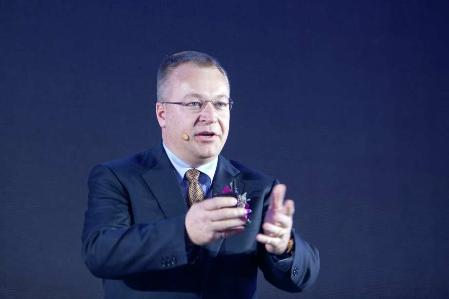 Stephen Elop, chief executive officer of Nokia Oyj, speaks during the launch of the company's Lumia Windows smartphones in Beijing, China, on Wednesday, March 28, 2012. Nokia will sell its Lumia Windows Phones for multiple networks in China, Elop said. Photographer: Nelson Ching/Bloomberg *** Local Caption *** Stephen Elop Photo: Nelson Ching / 2012 Bloomberg Finance L.P.
