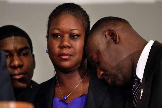death of Fulton's son Trayvon Martin, at the Washington Convention