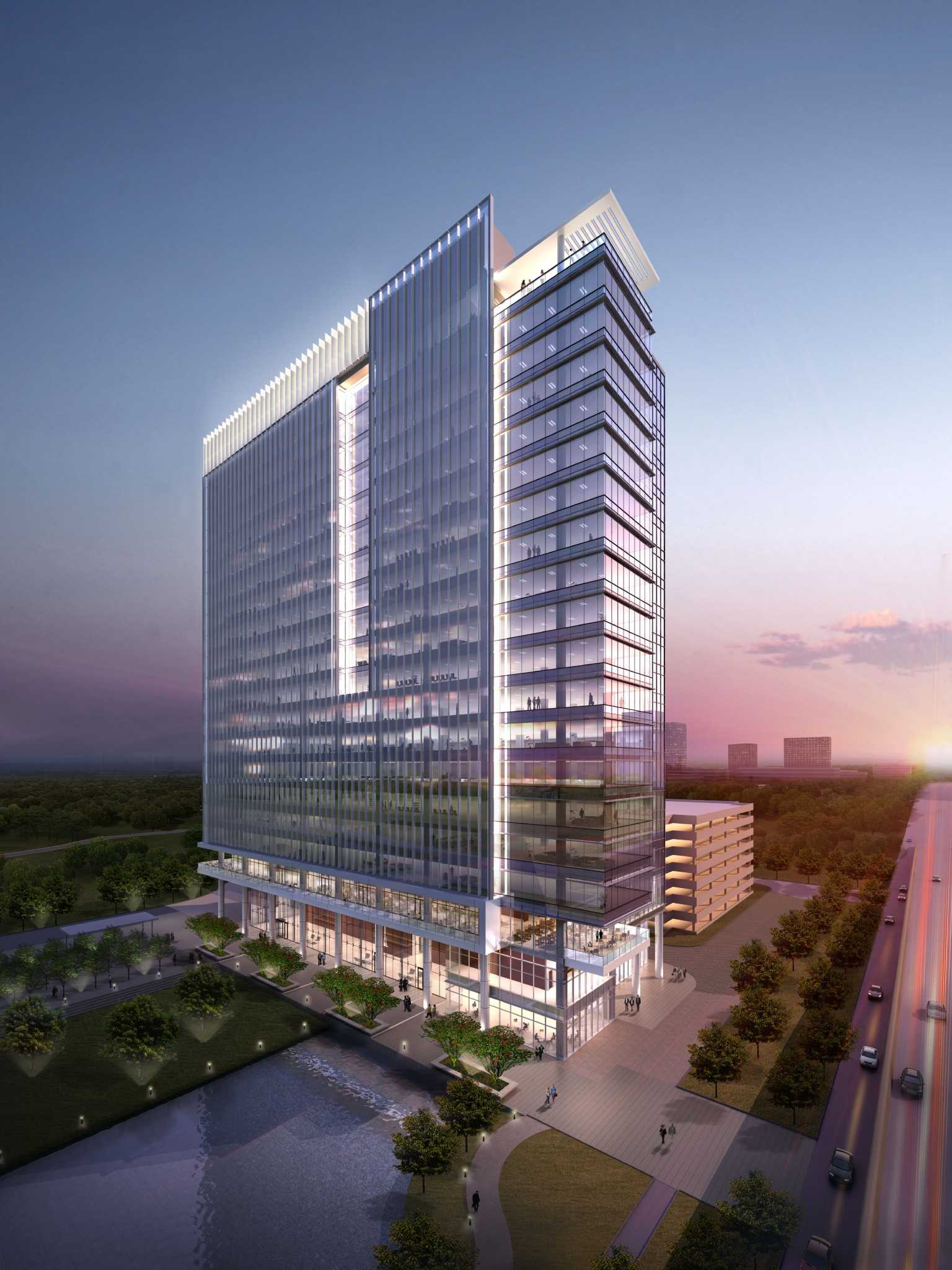 20 Story Tower Planned For Energy Corridor Houston Chronicle