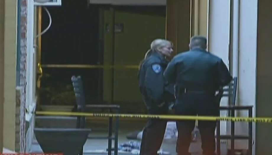 One person was killed, another injured, during a shooting outside a Fairfield bar Wednesday night. Police have not found the shooter. Photo: CBS San Francisco