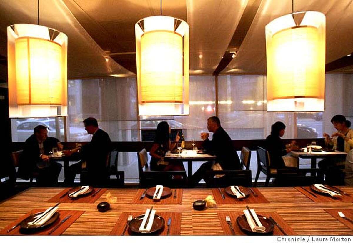 d.06 BONG SU8471_lkm.jpg Bong Su, a new Vietnamese restaurant located at 311 3rd Street, features a long banquet table in it's dining room. Laura Morton/The Chronicle Ran on: 08-06-2006 Bong Su, a new restaurant in the Maxs Diner space in San Franciscos South of Market, has a long banquet table. Ran on: 10-10-2007 Bong Sus soothing decor makes the most of the awkward space that formerly housed Maxs Diner.