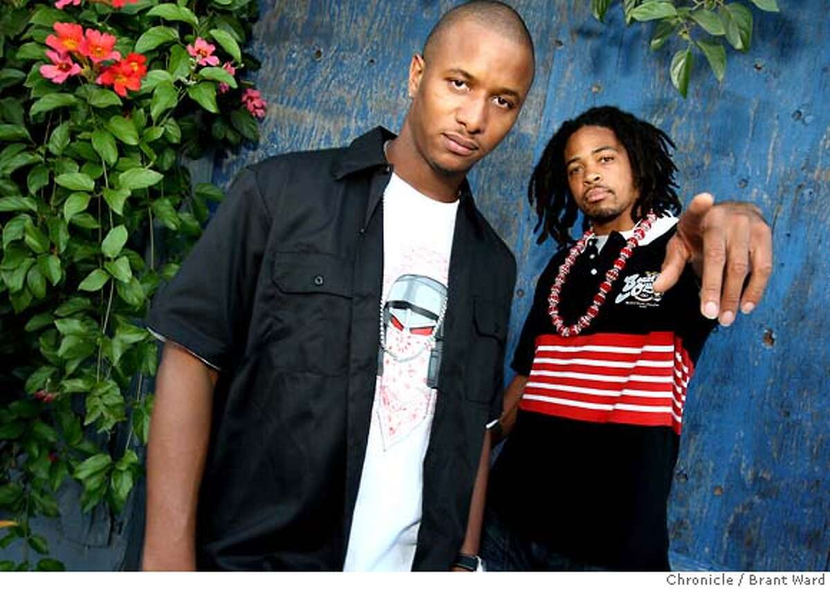 Amplive, left, and Zumbi of Zion I. Note: Zumbi is currently the only member of the group.