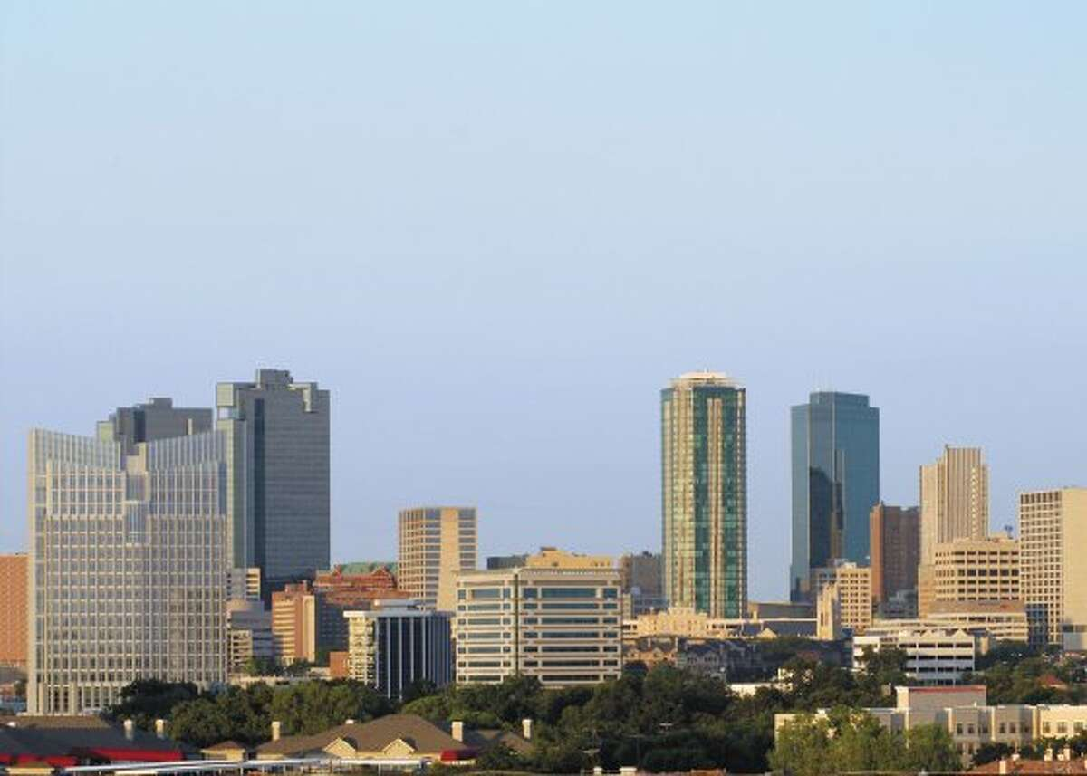1. FORT WORTH A view of the Fort Worth skyline (Fort Worth Convention & Visitors)